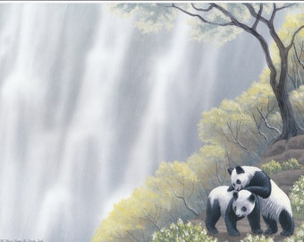 "First Name Meaning Print ""Panda Falls"""