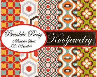 Psicodelic Party Paper Pack - No. 88