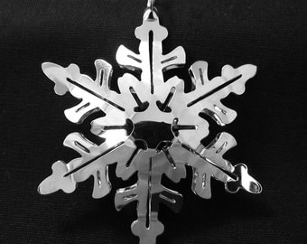 2001 Northcountry Snowflake Ornament