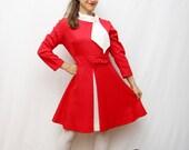 60's red dress