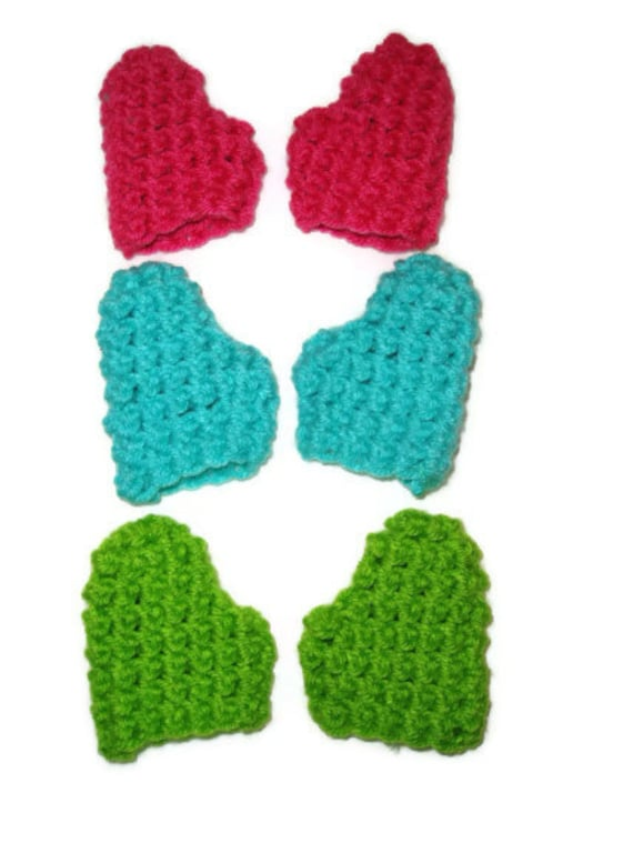Crochet Pattern For Doll Mittens : Mittens PDF Crochet Pattern Fits American Girl Dolls DIY Okay