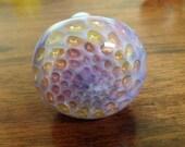 SALE Purple honeycomb spoon pipe