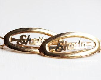Vintage Hair Clip - Sheila