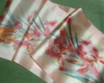 Antique Edwardian Watered Silk Ribbon