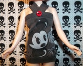 Blythe Doll Cutesy Mickey Mouse Tube Dress