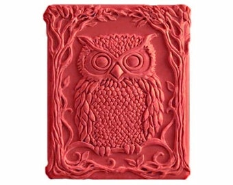 Owl Soap -  Organic  Soap - Decorative Soap - Glycerin Soap - Natural Soap - Moisturizing -  Peppermint Essential Oil