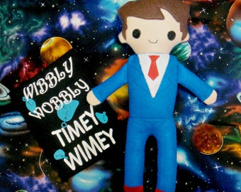 10th Doctor Who Inspired Softie Doll