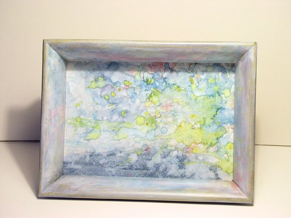 Watercolor Tray by Laurie Rohner