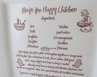 Wedding Parent Thank You Gift Platter Recipe for Happy Children