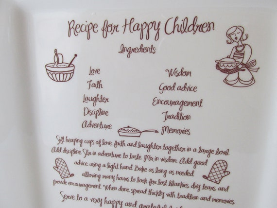 Wedding Gift For Parents At Rehearsal Dinner : Wedding Parent Thank You Gift Platter Recipe for Happy Children