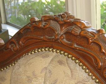Vintage Baroque Sofa.