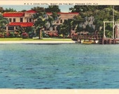 Vintage Florida Postcard - The Cove Hotel on St. Andrews Bay, Panama City (Unused)
