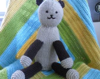Knitting Pattern PDF - Teddy Bear