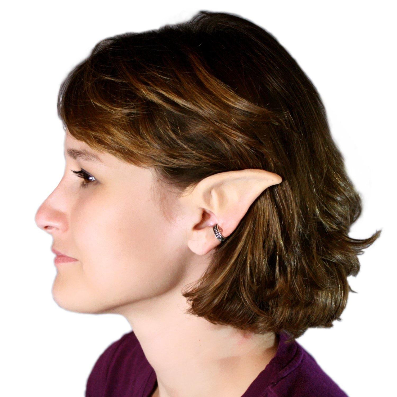 Elf Ears: Moon Elf handmade latex ear tips great for