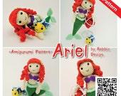 PDF Pattern - Amigurumi Princess Ariel The Little Mermaid