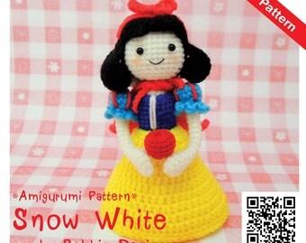 PDF Pattern - Amigurumi Snow White
