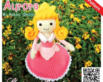 Amigurumi Principesse Disney : PDF Pattern - Amigurumi Princess Aurora Pattern