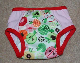 LuluBellDesigns Apple Dapple AIO Waterproof Underwear Trainers