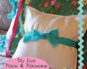 My First Pillow & Pillowcase A Learning to Sew PDF Sewing Pattern