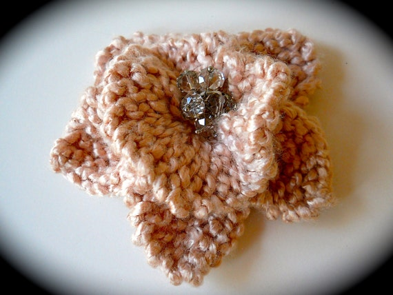 Knitted flow pin - Bobbie Smith's Boutique