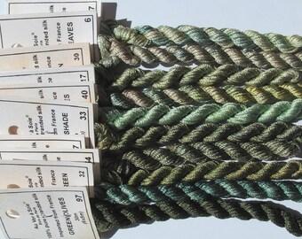 Green Garden collection - Silk Au ver 'a Soie de Paris