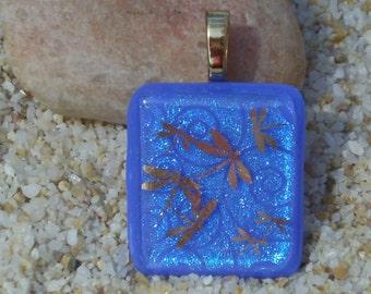 Sparkling Dragonfly Pendant