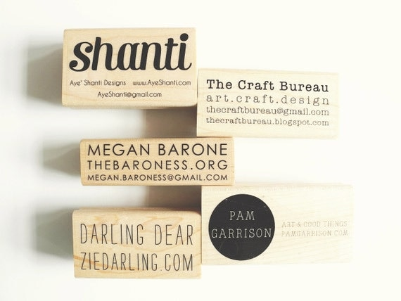 Items similar to personalized custom business card rubber for Rubber business cards