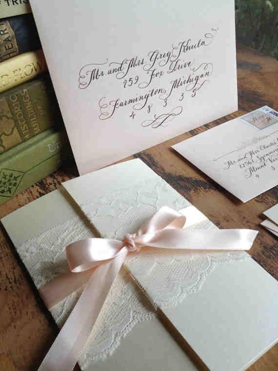 gatefold wedding invitations. vintage paper gatefold beach wedding,
