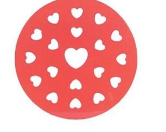 heart Pie crust Top Cutter