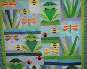 OVER in the POND childs quilt