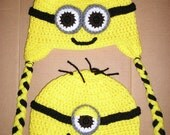 Minion Beanie made to order