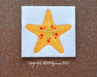 Starfish, INSTANT DOWNLOAD, Embroidery Design for Machine Embroidery 4x4