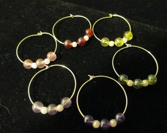 Wine Charms Silver 2