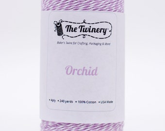 Full Spool - 240 Yards - New Color Orchid - Lavender Baker's Twine