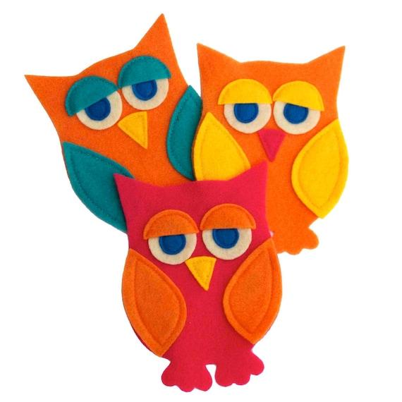 Little Owl Appliques