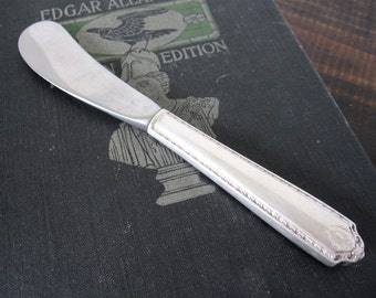 Vintage Sterling Handle Butter Knife, Lady Hilton 1940 by Westmorland