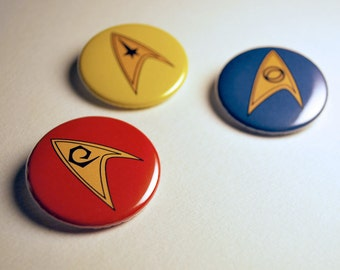 Star Trek Button Set