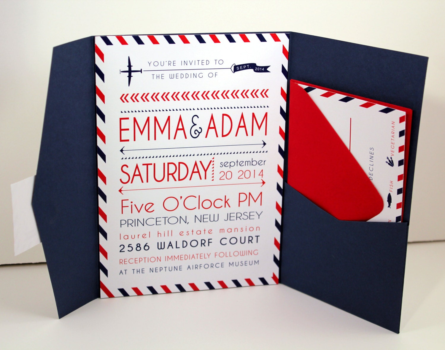 airplane themed wedding invitations - 28 images - airplane wedding ...