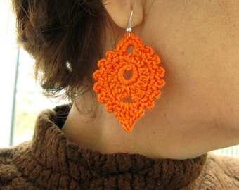 PDF Tutorial Crochet Pattern...Dangle Earrings -17