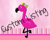 CUSTOM LISTING for Christina