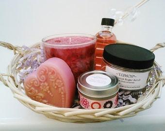 Custom Gift Basket - Mini Spa