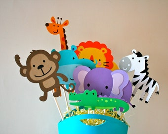 Popular objects for zoo animals child on Etsy - Decorative Outlet Socket Covers Jungle Zoo Animals Baby And Kids
