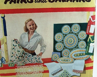 SALE  Vintage Star Book No. 98 - Suggestions for Fairs and Bazaars Knitting Patterns
