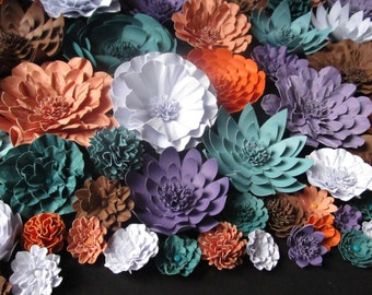 Weddings Hanmade Paper Flowers 150 2-3 inch Flowers-Color of Your Choice