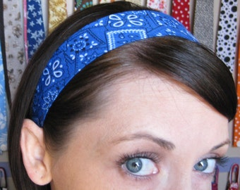 The Blue Bandana - Stay Put Headband
