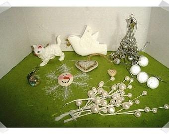 Christmas Craft Supplies/Assorted Lot/ Holiday Decor/Crafts Supplies**