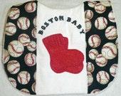 Boston Red Sox Baby bib sports fan