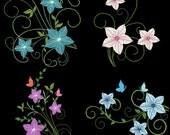 FANCY FLOWERS - 30 Machine Embroidery Designs Instant Download 4x4 5x7 6x10 hoop (AzEB)