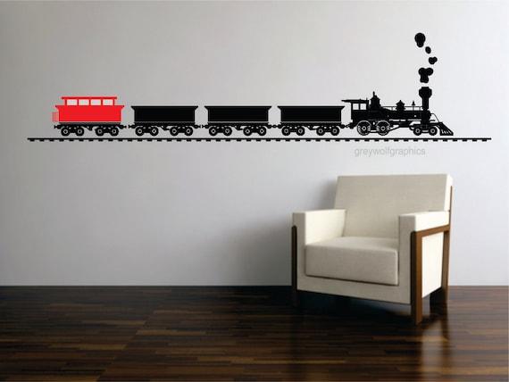 Train Wall Decal