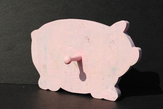 Pink Piggy Hook